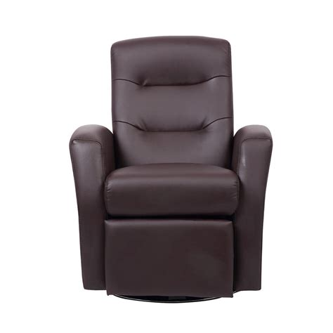 kids reclining swivel chair furniture comfy faux leather headrest