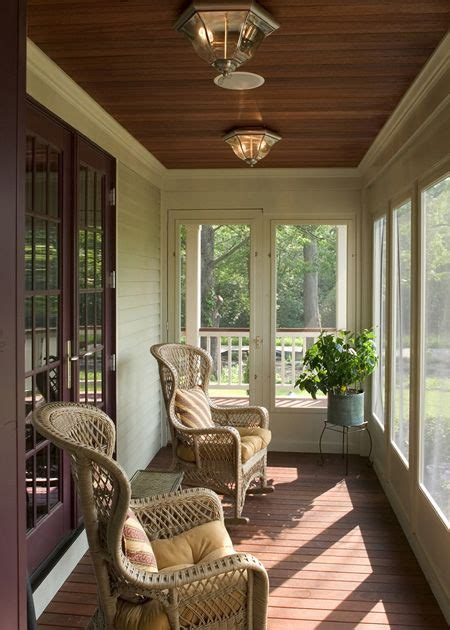 beautiful enclosed porchlove  ceiling garden interior design porch