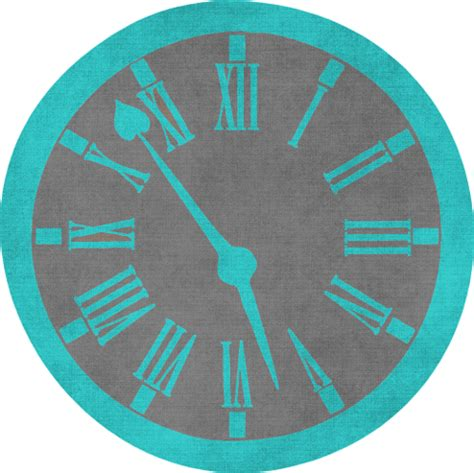 Clock Shaped Gift Tag Or Coaster Template Free Printable Papercraft Templates Clock Craft Template