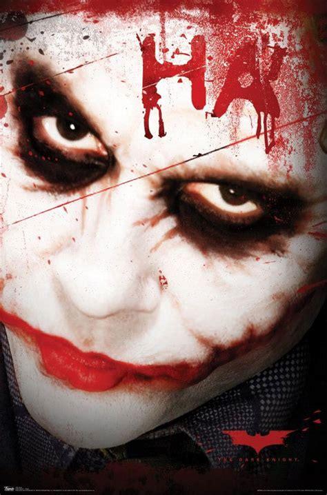 Heath Ledgers Joker Poster Was A by Joker On