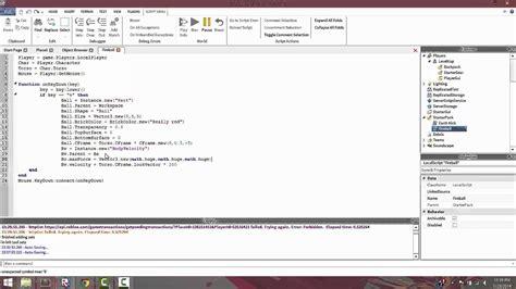 tutorial video script roblox lua scripting tutorial episode 7 creating our