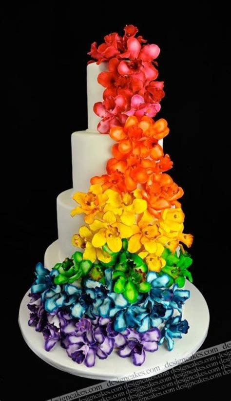Colorful Wedding Cakes by The Most Colorful And Joyful Cakes Page 2 Of 15