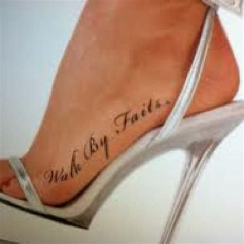 side foot tattoos best 25 faith foot tattoos ideas on small