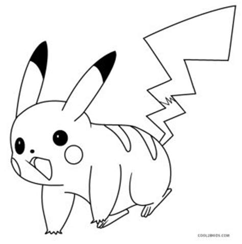 pokemon pikachu coloring pages free printable pikachu coloring pages for kids cool2bkids