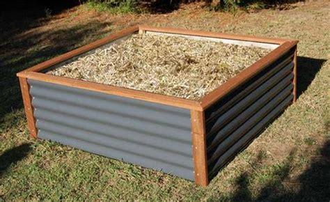 corrugated iron garden raised garden beds sydney clever garden supplies