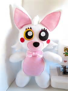 Plush inspired by five nights at freddy s unofficial fnaf toy foxy