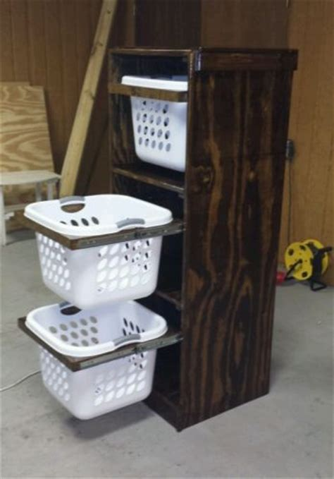 Diy Western Home Decor Laundry Basket Storage Handmade Hers Organize Rustic Western Decor Ebay Ikea Decora