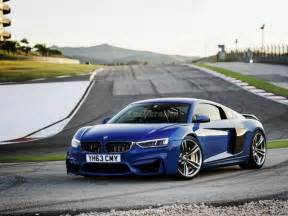 Bmw And Audi Bmw M4 And Audi R8 Offspring Doesn T Look Pretty
