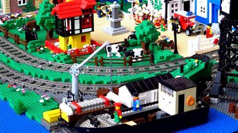 custom lego mod diy thomas  train toy set hack youtube