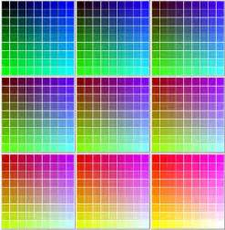 html color chart embeddable css color chart 216 hexadecimal values