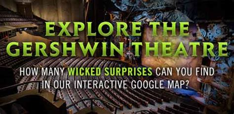 Wicked Behind The Emerald Curtain Wicked The Musical Official Site Take A Virtual Tour