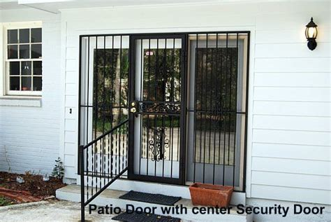 Patio Door Gates Midstate Burglar Bars Security Doors Patio Security Doors