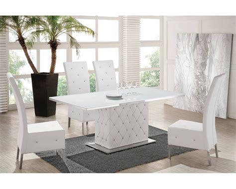 Attrayant Bahut Salle A Manger Pas Cher #3: table-salle-manger-blanche-olbia-similicuir-verre-design-blanc.jpg
