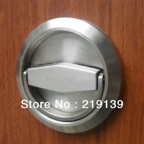 Recessed Door Knob stainless steel furniture cabinet recessed cup door handle drawer kitchen pulls bar stainless