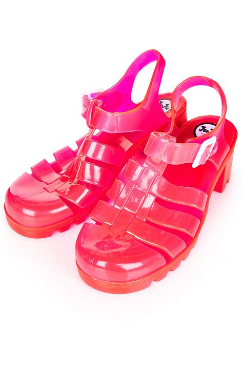 Jelly Shoes Bowie in heels jelly sandals trending my inner 6 year