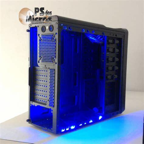gabinete pc barato gabinete gamer barato c3tech acrilico pc 4t303 fita led