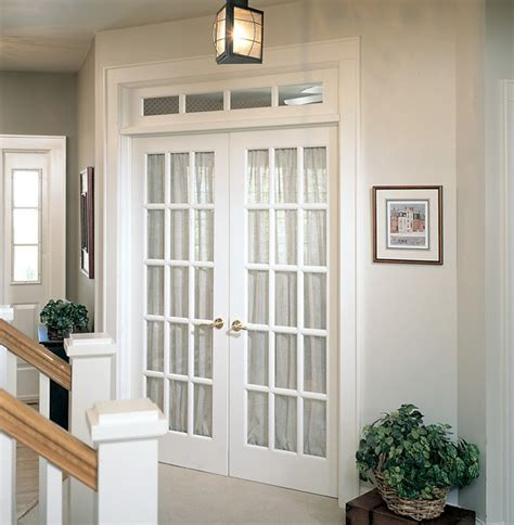 Interior Glass Doors White White Interior Doors With Black Hardware Photo