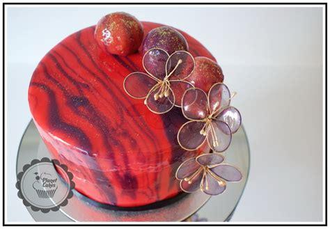 mirror glaze cake shiny mirror glaze cake cakecentral com