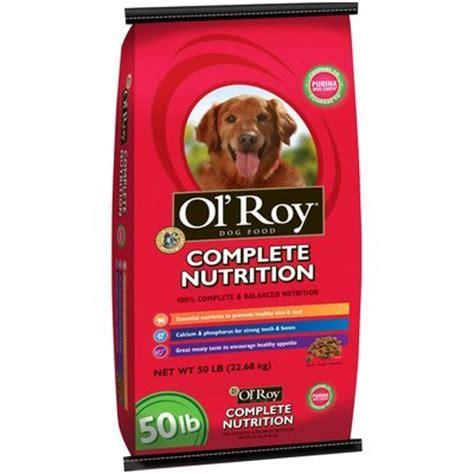 food 50 lb bag ol roy 174 complete nutrition food 50 lb bag reviews find the best pets