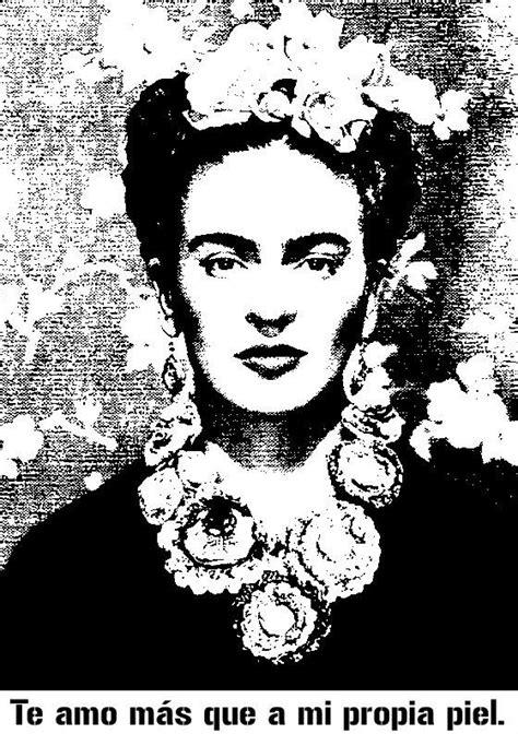 imagenes en blanco y negro de frida kahlo 836 best images about frida kahlo on pinterest frida