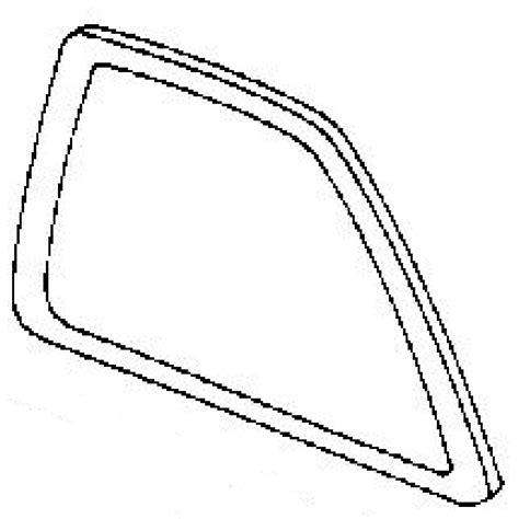 rear door glass passenger side acura rdx 4 door utility service manual quarter glass driver side acura 90 93 acura integra oem rear left driver side
