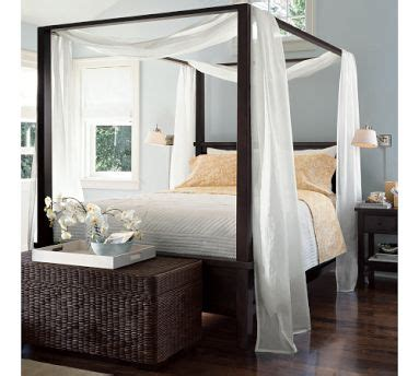 farmhouse canopy bed look 4 less
