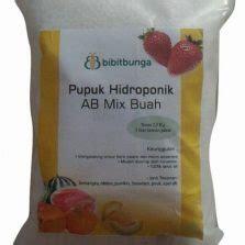 Pupuk Gandasil B Untuk Cabe nutrisi ab mix cabe paprika 380gr bibitbunga