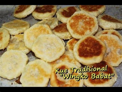 membuat kue ala anak kos resep membuat kue tradisional wingko babat enak dan mudah