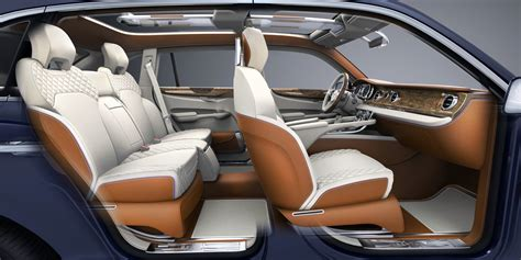 bentley exp 9 f interior bentley exp 9 f suv full interior top 50 whips