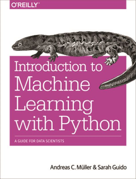python machine learning a guide for beginners books muller a c guido s introduction to machine learning