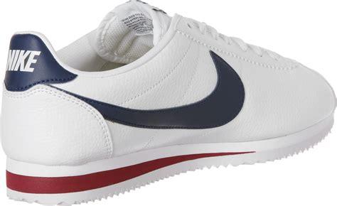 Nike Cortez Clasic nike classic cortez leather shoes white blue weare shop
