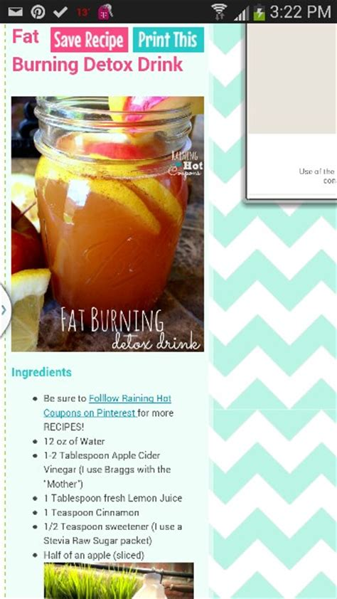 Detox Drink With Apple Cider Vinegar Recipe by