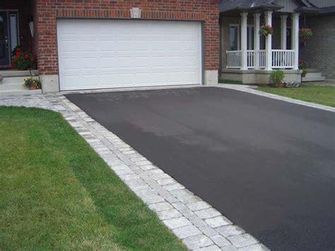 flagstone border  asphalt driveway google search