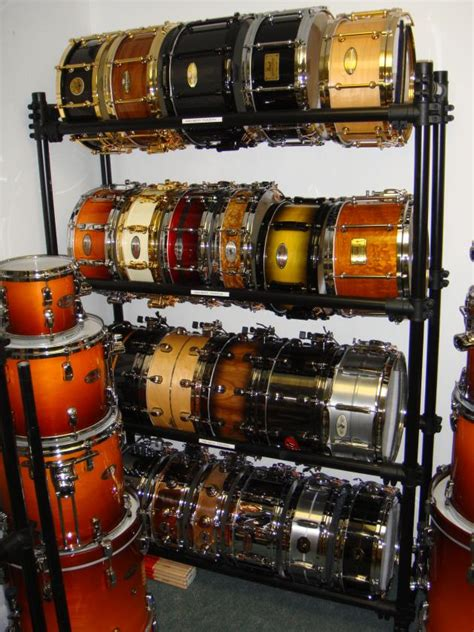Snare Rack by Snare Collection Display Rack