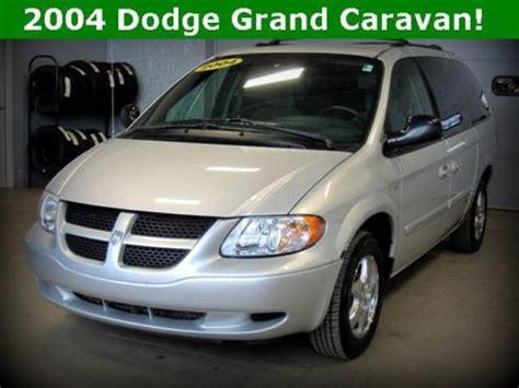 how it works cars 2004 dodge caravan user handbook find used 2004 dodge grand caravan se in alliance ohio united states