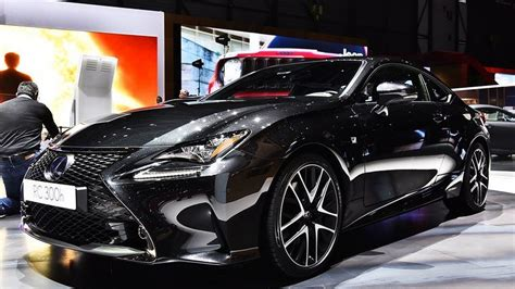 Geneva Batik Black 2019 lexus rc 300h f sport black special edition review at