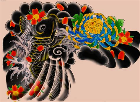 japanese tattoo background designs japanese wallpapers wallpaper cave