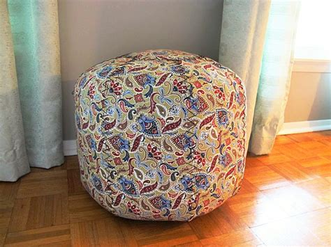 no sew pouf ottoman 1000 ideas about homemade ottoman on pinterest diy