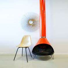indoor chiminea on mid century fireplaces and