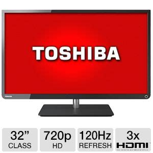 Tv Tabung Toshiba 29 toshiba 32 class led tv 720p 120hz 3x hdmi usb energy 32l1350 at tigerdirect