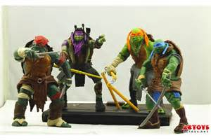 Teenage mutant ninja turtles 2014 movie action figures surface