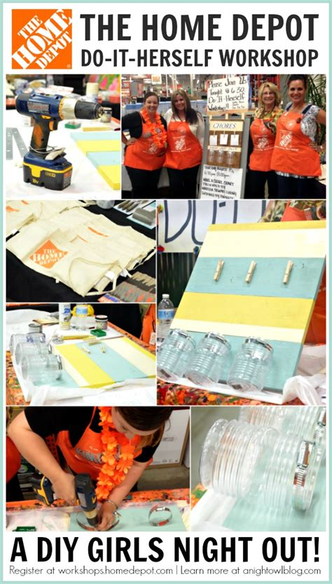 diy workshops at the home depot bilderrahmen ideen