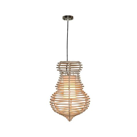 Hanging White Wash jeffan 1 light modern chic hanging pendant in