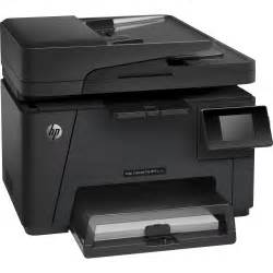 all in one color printer hp m177fw laserjet pro all in one color laser printer