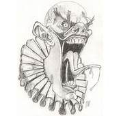 Killer Clown Drawing Face Images &amp Pictures  Becuo