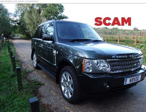 land rover vogue 2006 scam range rover 4 4 se vogue 2006 quot n9vog quot 163 7000 ebay