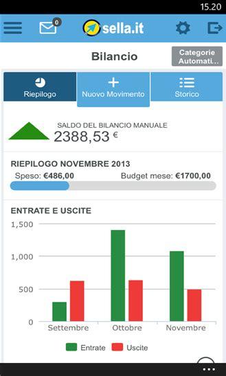 succursali sella nokia lumia una selezione di app per il mobile banking