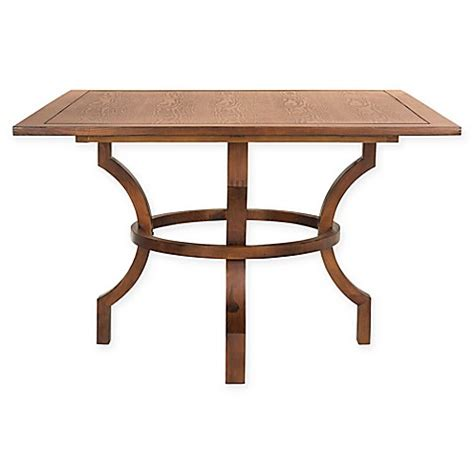 Buy Square Dining Table Buy Safavieh Ludlow Square Dining Table In Chestnut From Bed Bath Beyond