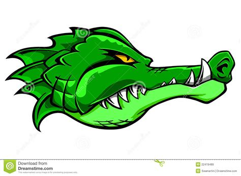 imagenes de vector the crocodile crocodile mascot stock vector illustration of alligator