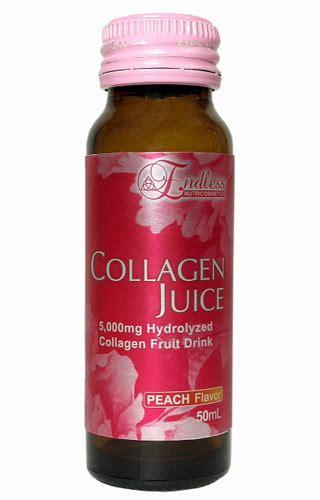 Juice Collagen achieve better looking skin with endless collagen juice drink